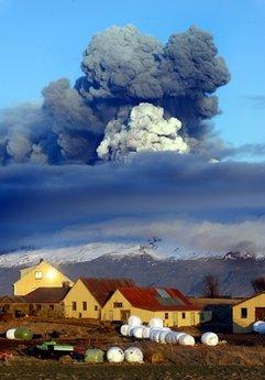ICHEOKU, AS ICELAND'S EYJAFJALLAJOKULL VOLCANO  ERUPTS?
