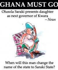 KWARA STATE PEOPLE IN BONDED SERVITUDE TO THE SARAKIS!