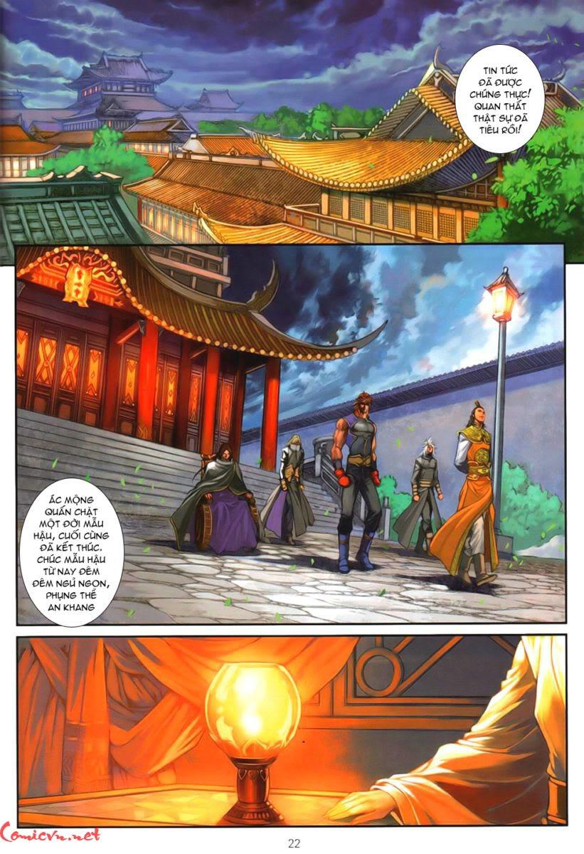 Ôn Thuỵ An Quần Hiệp Truyện chap 93 - Trang 20