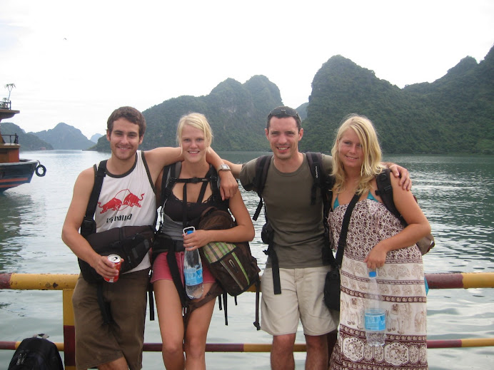 Leaving Halong Bay