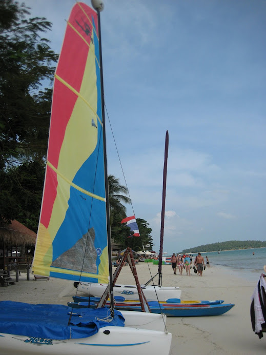 Lots of fun water sports at Ko Samui
