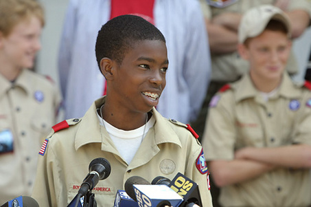 Image result for black boy scouts