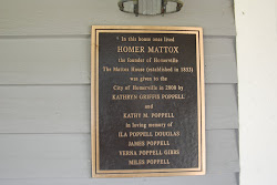 HOMER MATTOX Sign