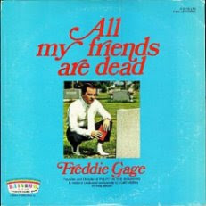 funny record cover my friends are dead