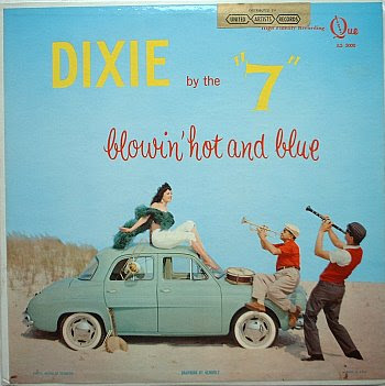 weird beach album cover dixie