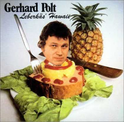 really funny weird gerhard polt hawaii album cover label