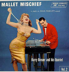 funny weird strange album covers harry breuer and quintet mallet mischief with woman choke on pearl necklace photo