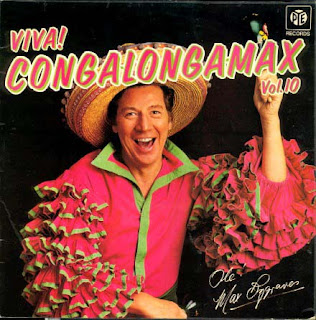funny weird record lp covers max bygraves viva congalongamax picture