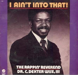 funny christian album covers rappin reverend dr c dexter wise i aint into that