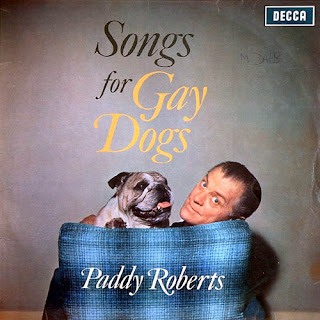 funny record albums songs for gay dogs by paddy roberts