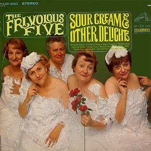 funny worst album covers frivolous five sour cream other delights raunchy