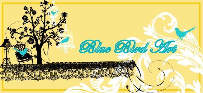 Blue Bird Art