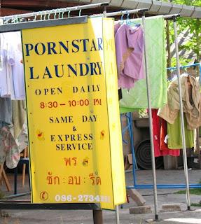 Pornstar Laundry