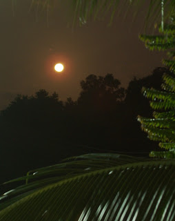 Moonrise in Phuket, 1st February 2007