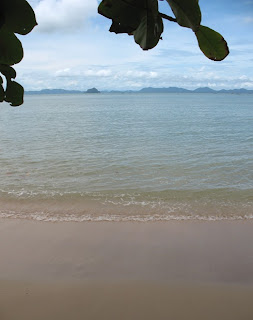 View from restaurant, Koh Sirey. 16th June