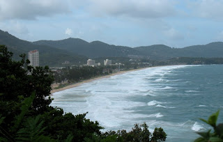 View over Karon Beach, 9th August