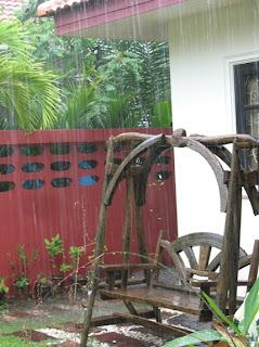 Rain rain rain. 18th August 2007