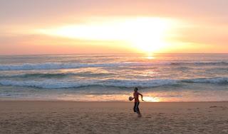 Karon Beach sunset, 21st September
