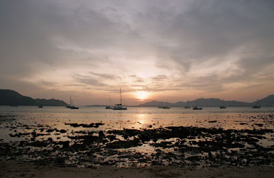 Sunset 1st January, Cape Panwa, Phuket