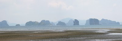 View from east coast of Koh Yao Noi