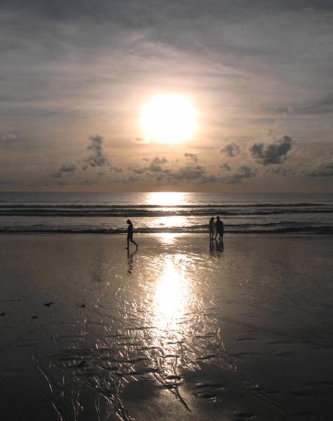 Sunset at Karon Beach, July 2008