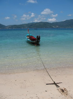 Longtail boat at Paradise Beach, Phuket