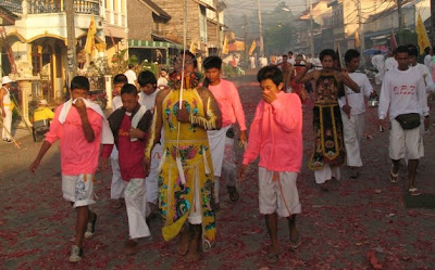 Procession in Kathu Village