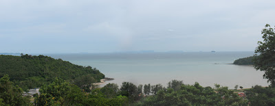 View from Wat Sirey, Phuket, 21st November