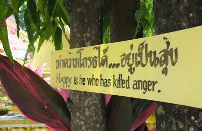 Buddhist teachings at Wat Mongkhon Nimit, Phuket Town
