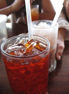 Drinks at Uptown Restaurant