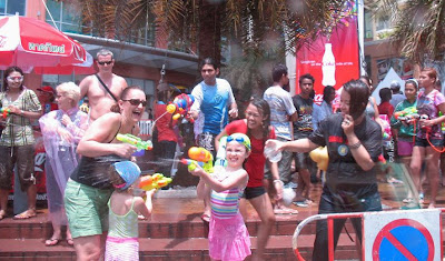 Family Fun - Songkran 2009 - Patong Beach Phuket