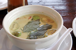 Green Curry at Batik Seafood