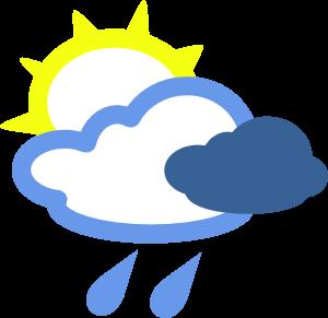 Sun, Cloud, Rain