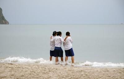 Schoolkids at Ao Manao