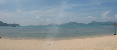 View from the Beach Bar, Cape Panwa, Phuket