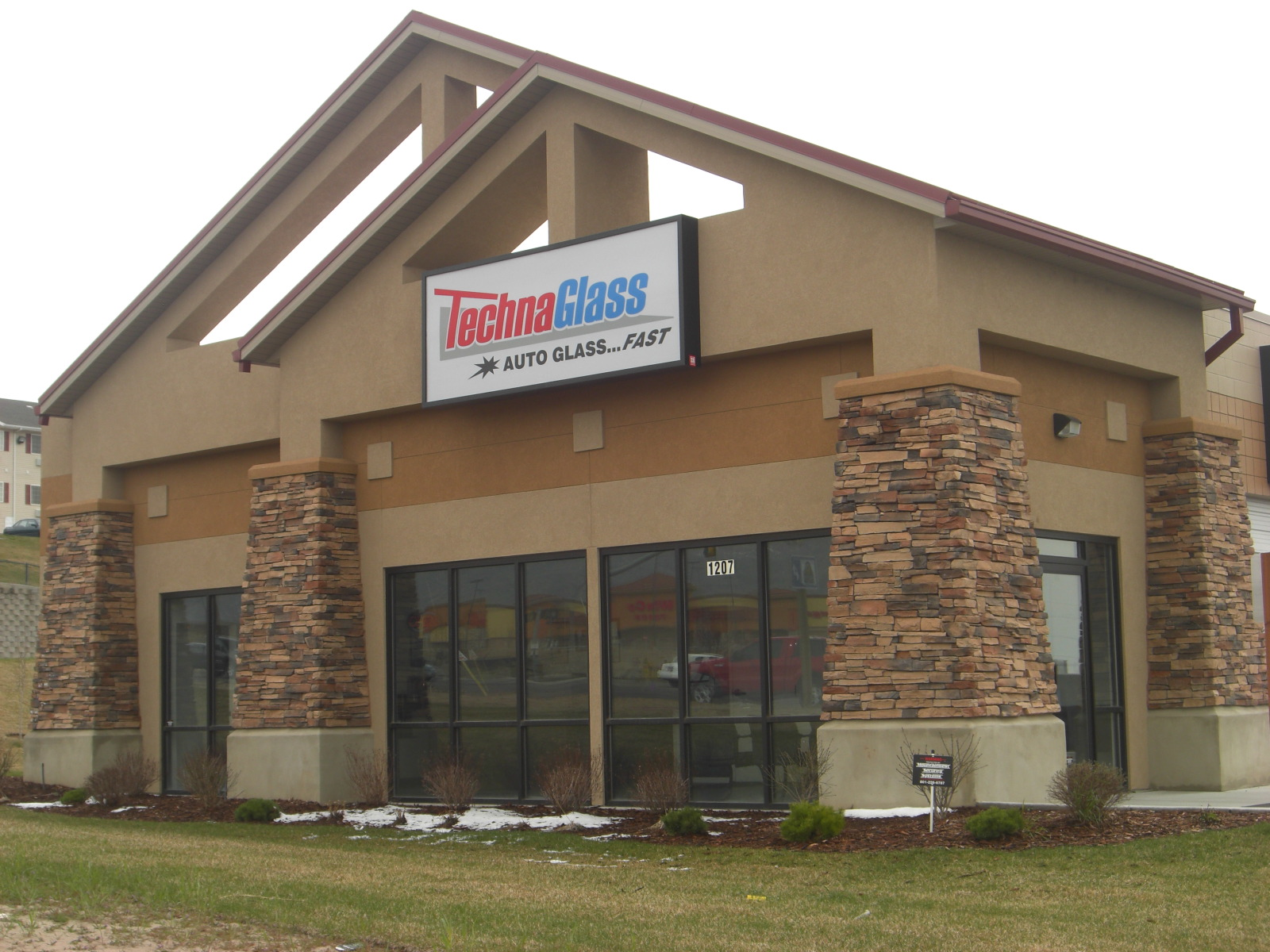 Small Commercial Buildings : Stucco tech small commercial buildings