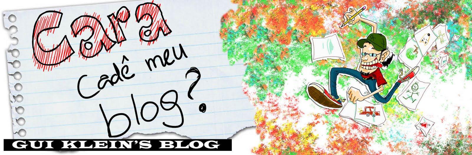 Cara, cadê meu blog ?