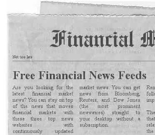 Best Free Financial News Feeds