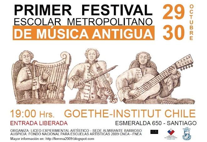 Festival Escolar Metropolitano de Música Antigua