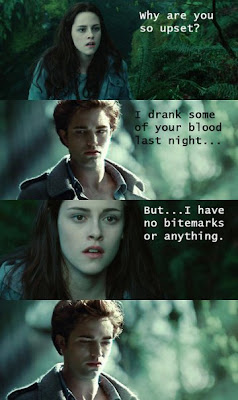 Twilight - Edward cant resist temptation