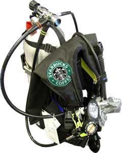 Starbucks Scuba Tank