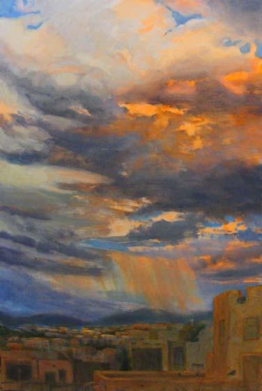 Santa Fe Skyscape