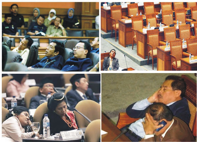 Survei: Orangtua Tak Mau Anaknya Jadi Anggota DPR