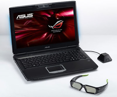 Asus G51J 3D Gaming Laptop