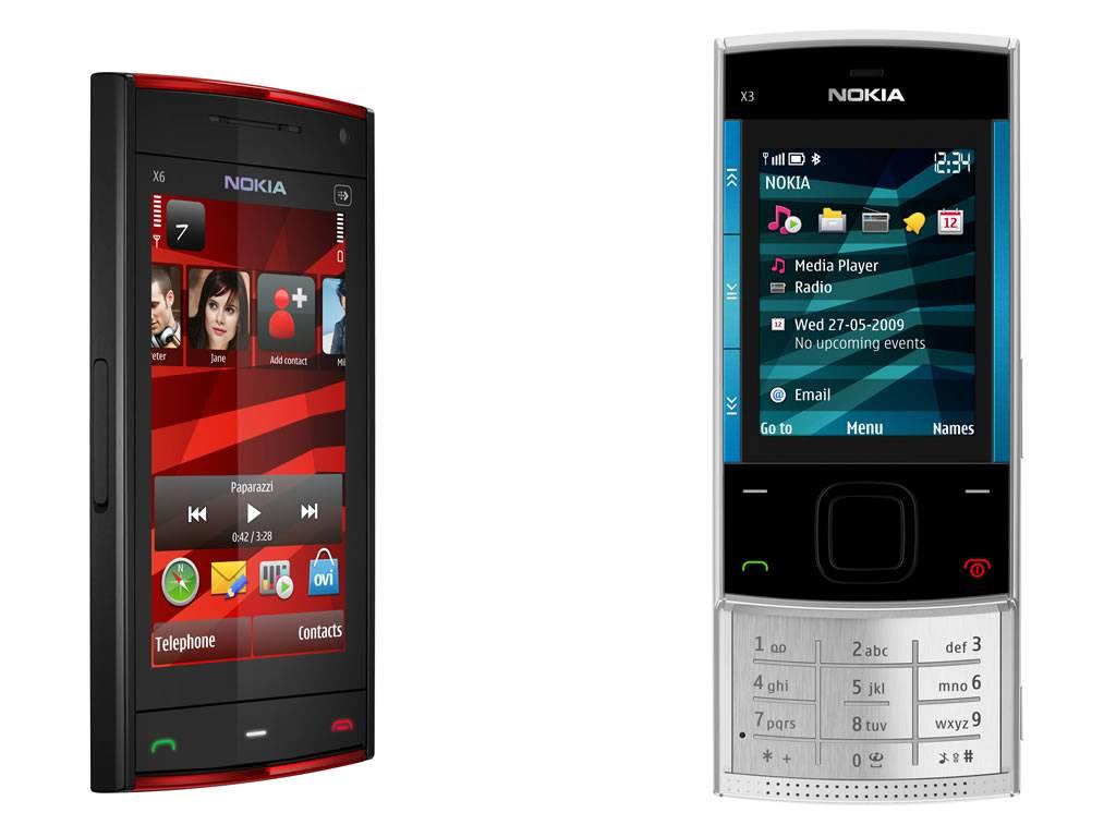 Nokia's x6 - a 16gb handset
