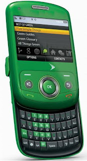 Sony Ericsson_Green Mobile