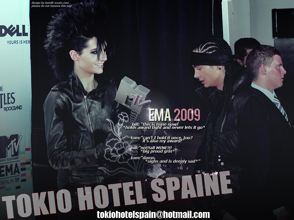 Tokio Hotel Spaine