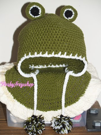 ) & wear this cute Kinabalu Frog Ear flap hat. All the best Anieza