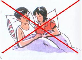 tidak melakukan hubungan seksual di luar nikah