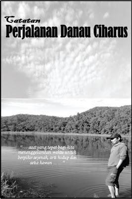halaman depan Catatan Perjalanan Danau Ciharus